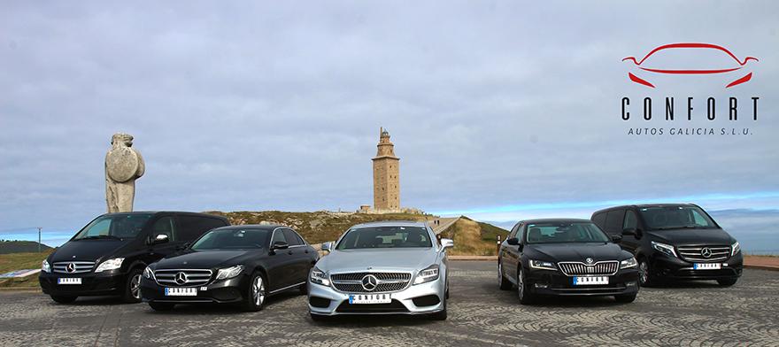 La mejor empresa VTC en A Coruña - Calidad al mejor precio